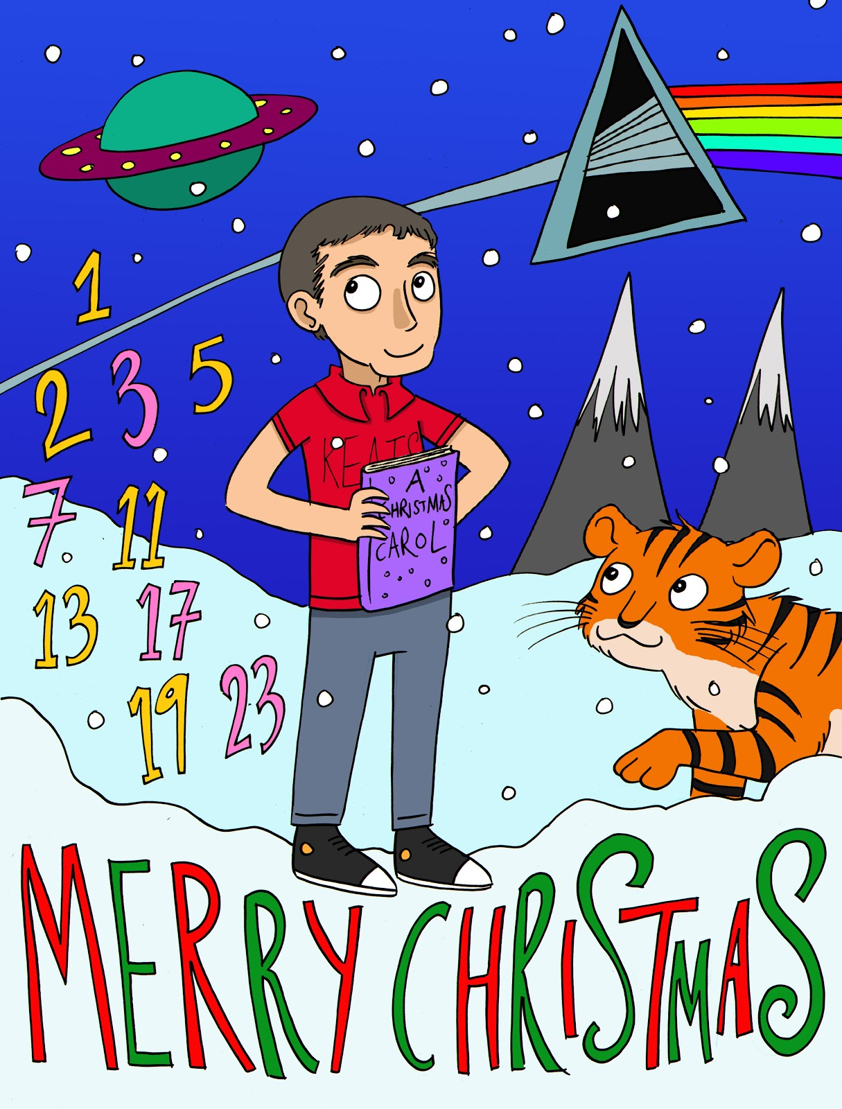 Rachael Smith Illustration: Merry Christmas :)