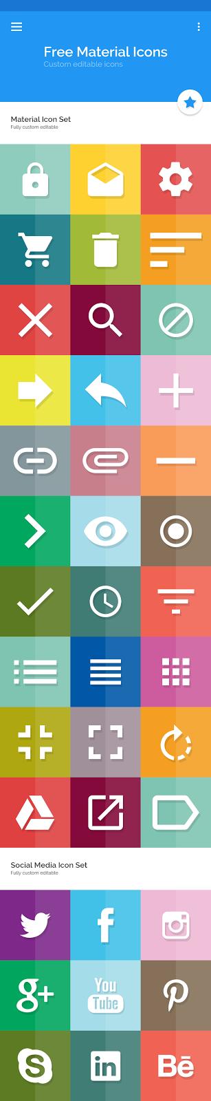 ikon, ücretsiz ikon seti indir, sosyal medya ikon seti indir, google ikon indir, karışık ikon seti indir, psd dosyası, photoshop,