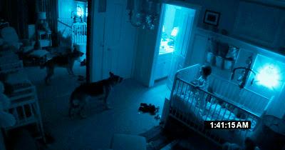 Escena de la película Paranormal Activity 3, de los directores Henry Joost y Ariel Schulman