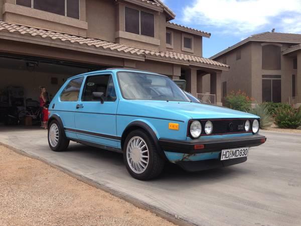 Daily Turismo 5k This Car Is In Phoenix 1977 Volkswagen Gti Mk1