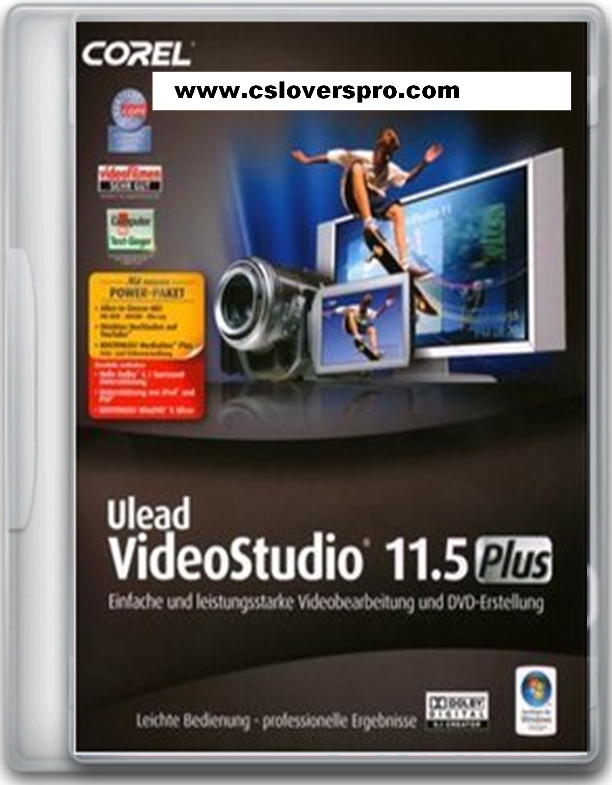 Ulead videostudio plus v11.5 with dolby digital power pack