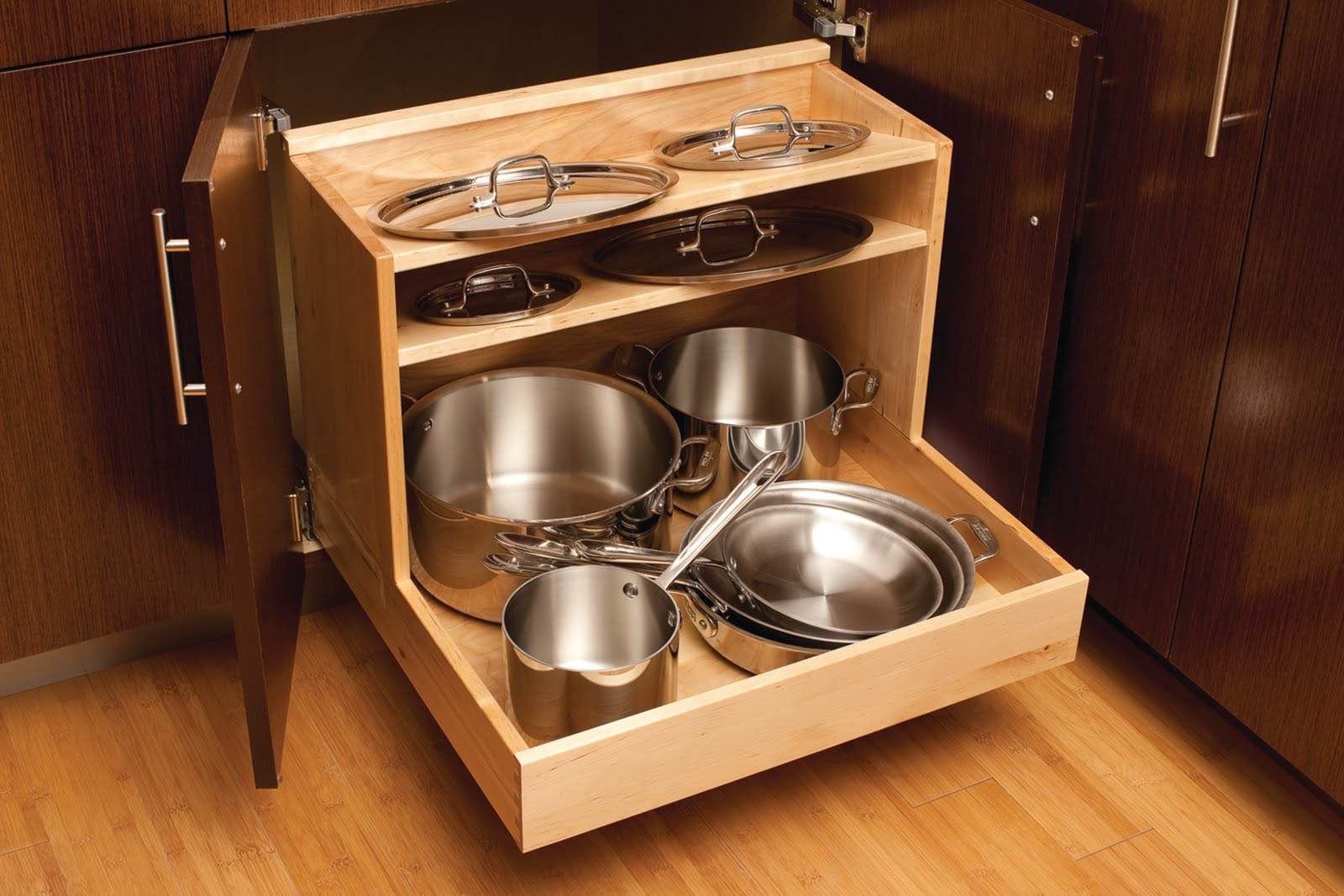 Kitchen Drawers For Pots And Pans 100  Kitchen Cabinet Pot Organizer   Kitchen How To Build