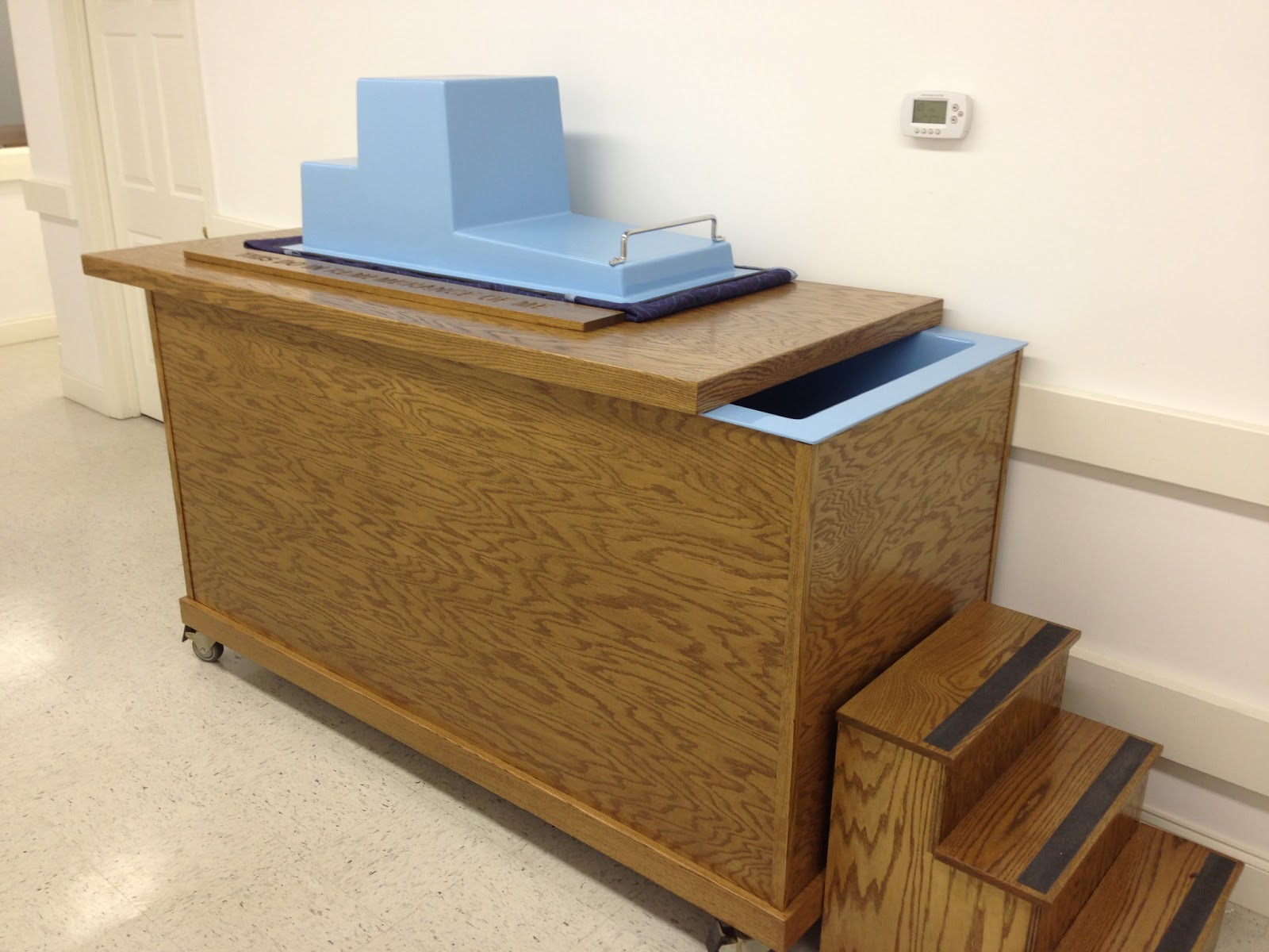 Portable Baptismal Tub