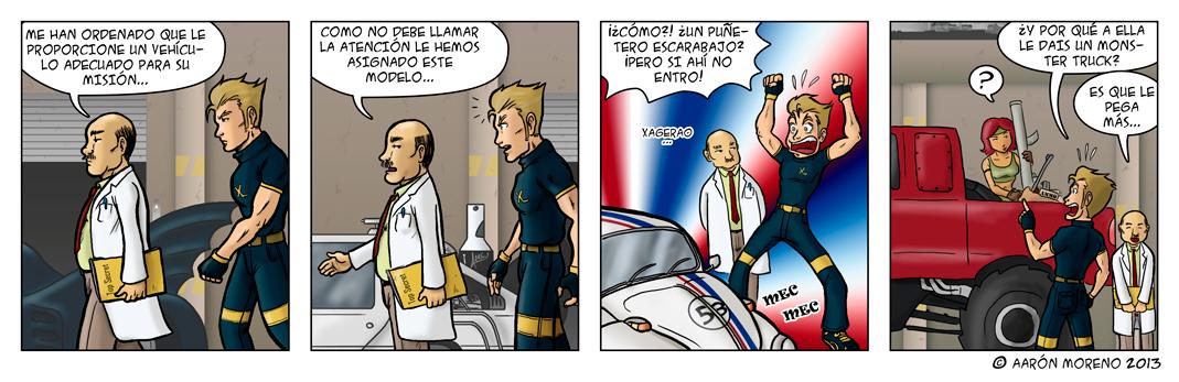 Diox-Men #003 Ahí va ese bólido