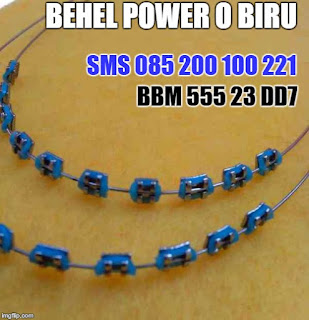 behel power o biru