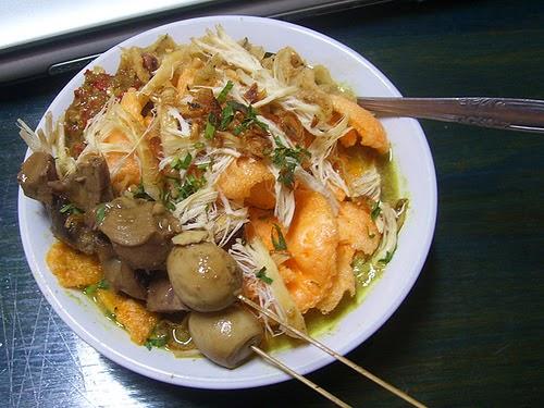 Resep bubur ayam, resep masakan bubur ayam, cara masak bubur ayam, resep bubur ayam istimewa, resep kuah bubur ayam, cara membuat bubur ayam sederhana, spesial, kuah kuning
