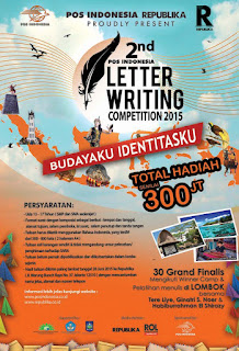 lomba menulis surat PT Pos indonesia 2015