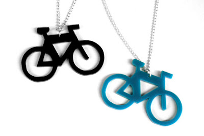 Ma Bicyclette: National Bike Month - Bicycle Necklaces