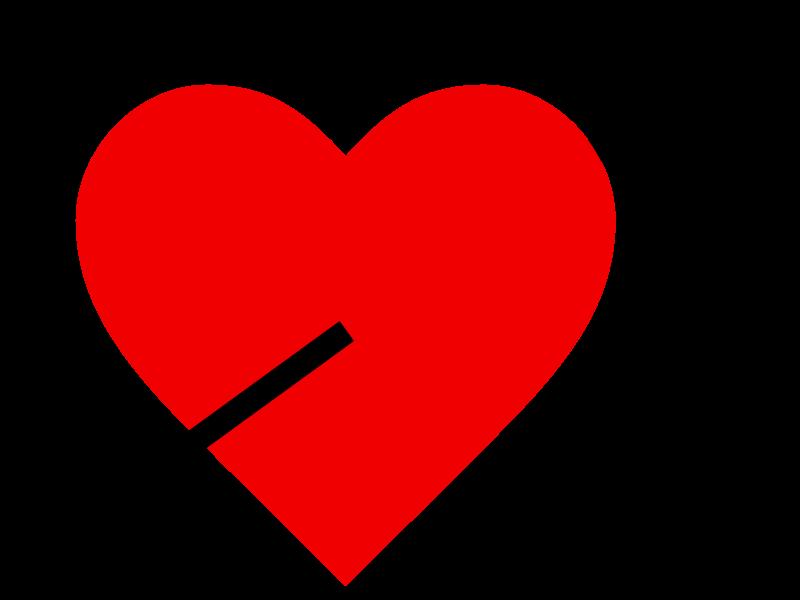 Coeur Dessin image de coeur: dessin d'une flèche dans un coeur