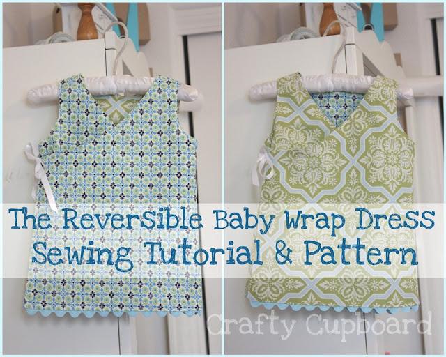 Reversible Wrap Dress Pattern