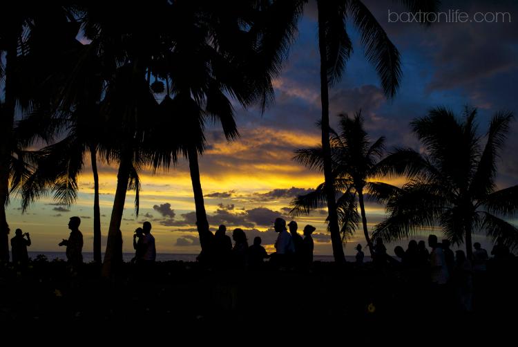 sunset paradise cove luau oahu