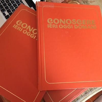 Conoscere Ieri Oggi Domani enciclopedia ragazzi anni 80