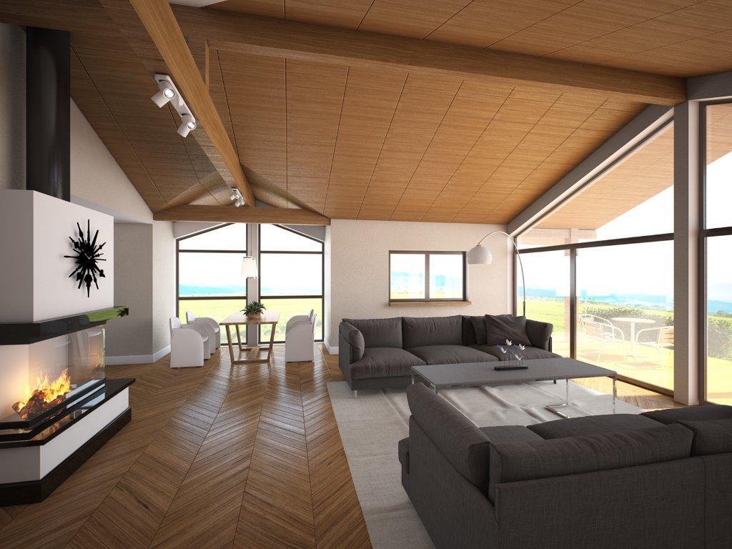 Contemporary house plans modern contemporary house plan ch146 for Concept home com