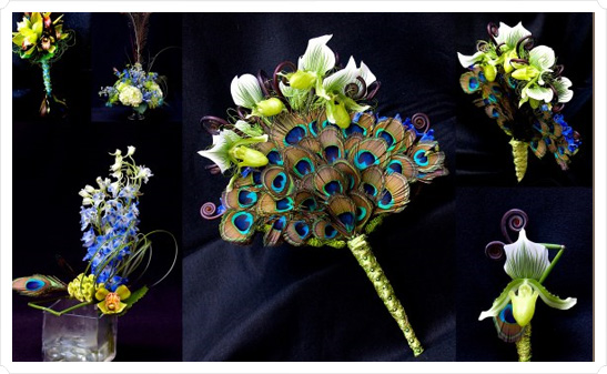 In Style Party Favors PEACOCK WEDDING THEME