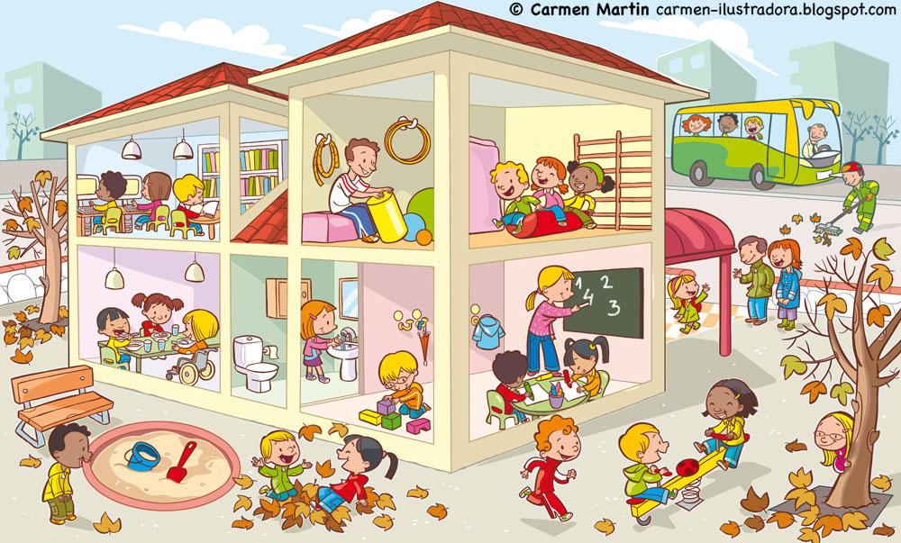 Carmen mart n ilustradora l minas y p sters de educaci n - Laminas y posters madrid ...