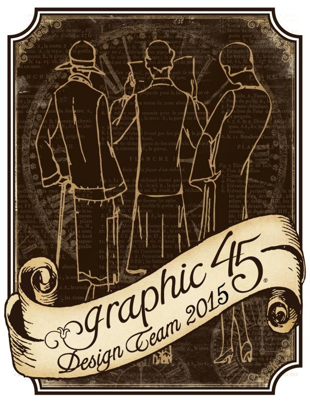I design for Graphic 45!