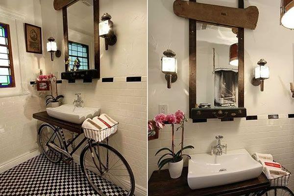Ecosenda un estilo de vida natural ideas para ba os con for Muebles para bano hechos en casa