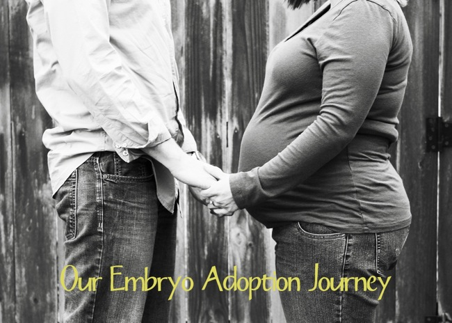 Our Embryo Adoption Journey