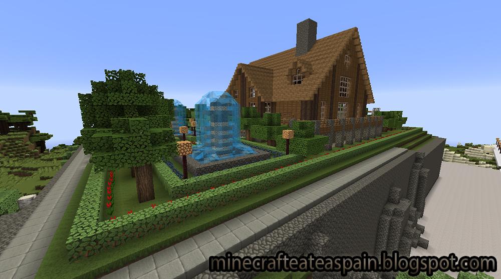 Minecrafteate casa de campo minecraft Disenos de casas minecraft