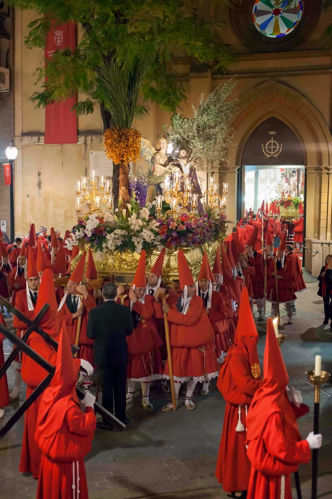 Oración Semana Santa Murcia escultura 1