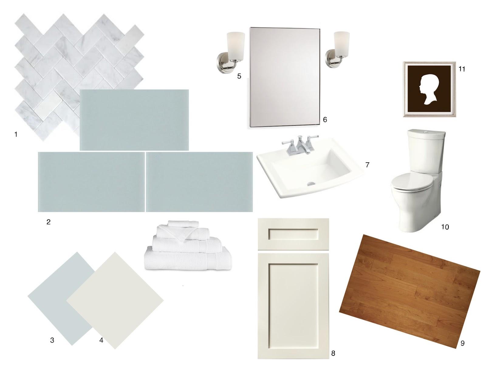 Designhouselove bathroom 1 mood board for Bathroom design board