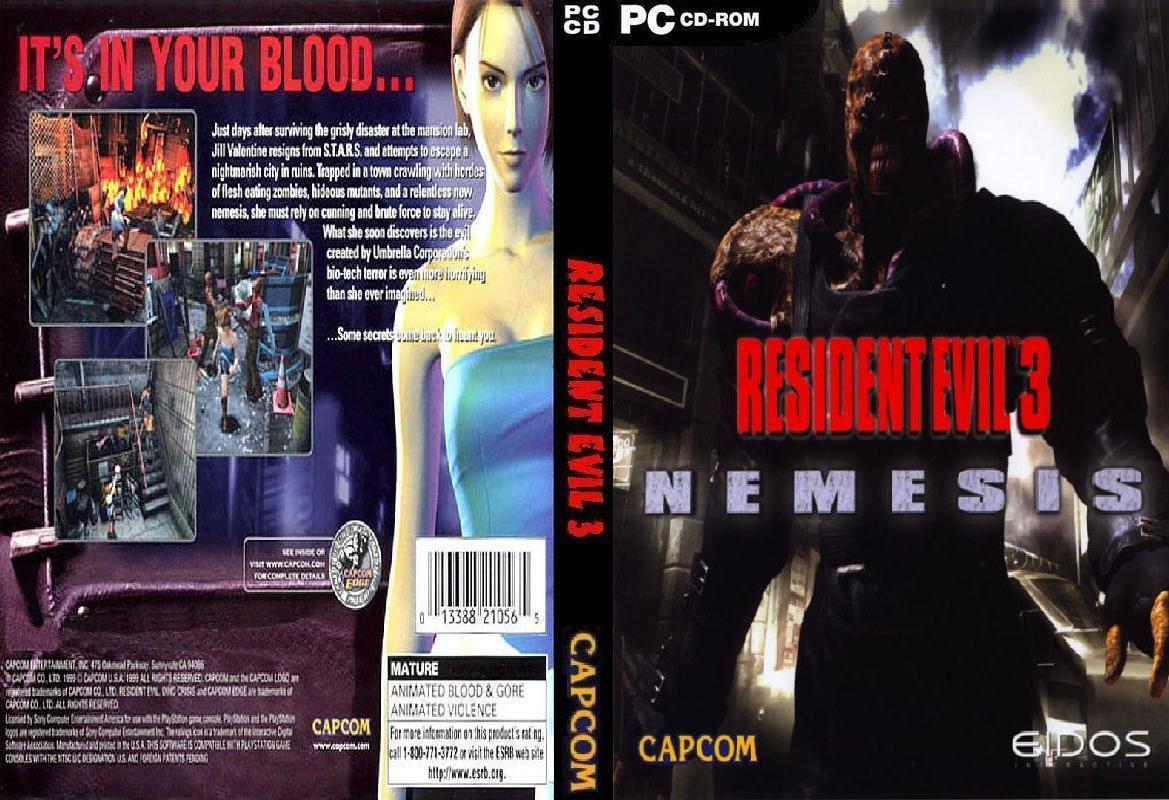 Resultado de imagem para Resident Evil 3 Nemesis (PC)