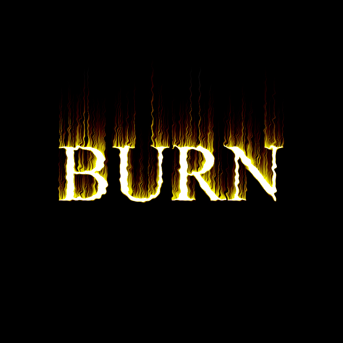 Making Flaming/ Burning Text