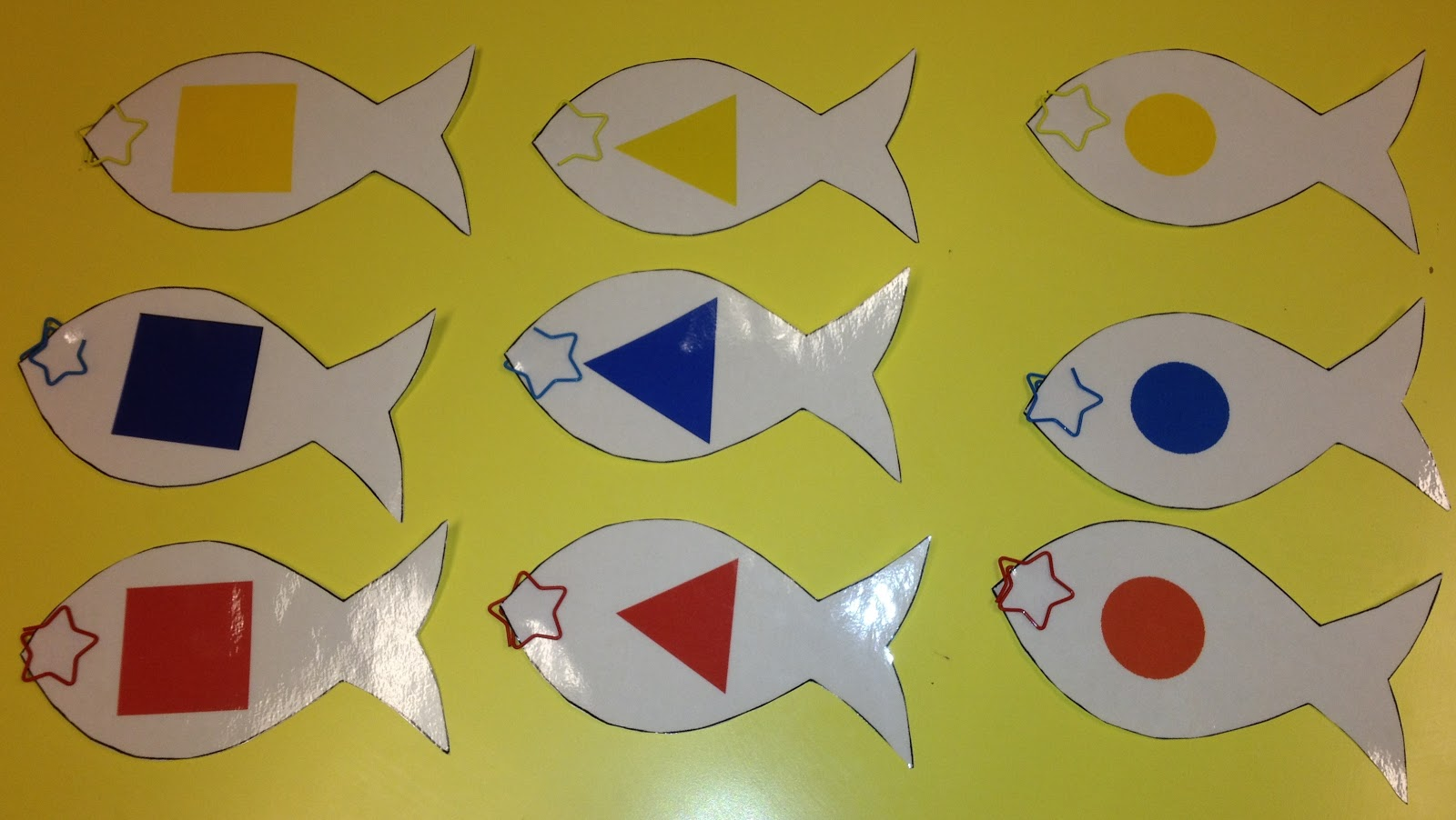 Suzuki Speech Therapy Blog: Fishing Game - colors, shapes, two ...