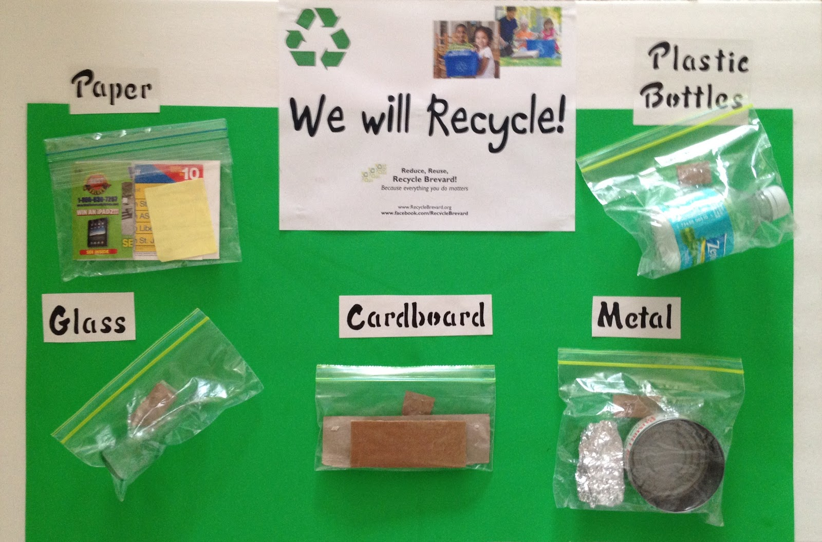 Recycle brevard 2012 for Recycle project ideas