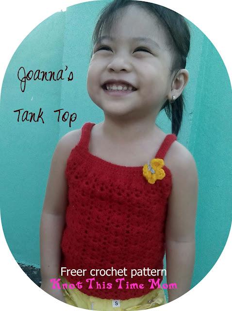 Joanna's Tank Top Free Crochet Pattern