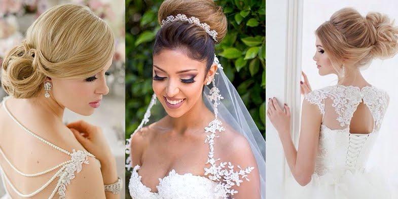 Romantic and elegant bridal hairstyles junglespirit Images