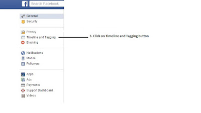 Step 3: Click on Timeline and Tagging Button