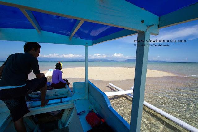 Keindahan Wisata Gili Kapal di Lombok Timur