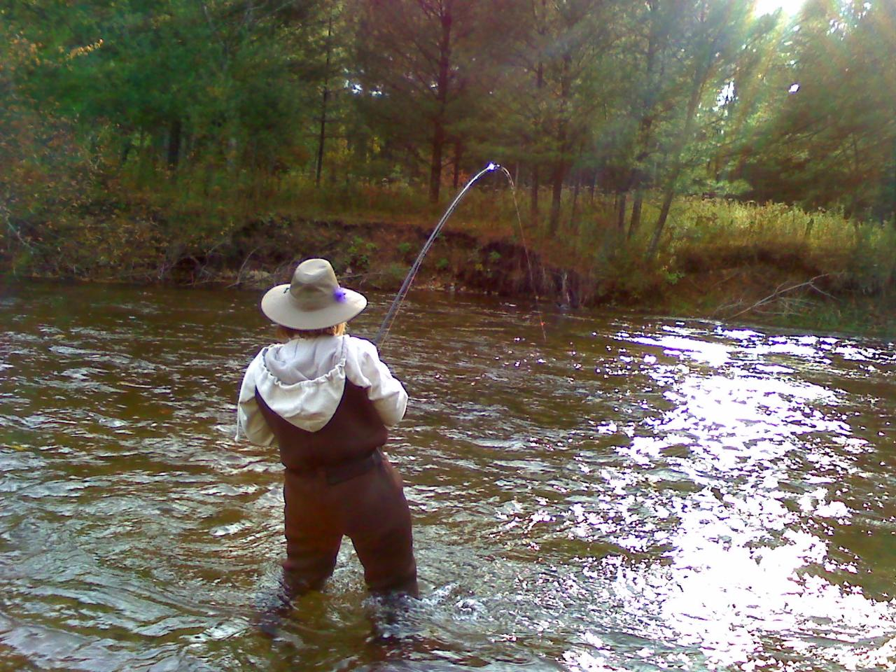 Various kinds of fly fishing casts she 39 s so fly outdoor news for Fly fishing news