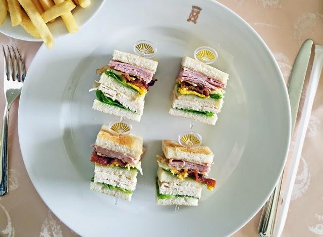 Club Sandwich Mandarin Oriental Bangkok