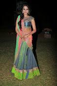Manasa Glamorous Photos in Half saree-thumbnail-6