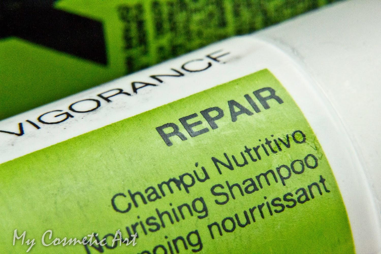 Champú nutritivo y reconstructor del cabello de Yunsey Profesional.