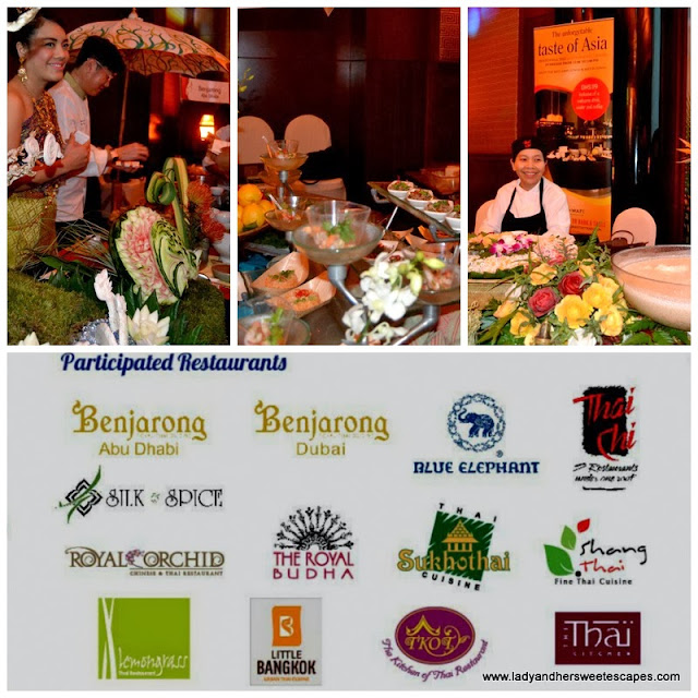 Amazing Tastes of Thailand Fest 2013 list of restaurants
