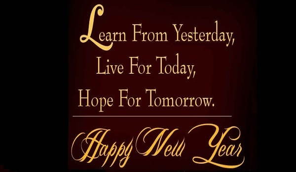 Happy New Year 2016 HD Wallpaper for Whats app