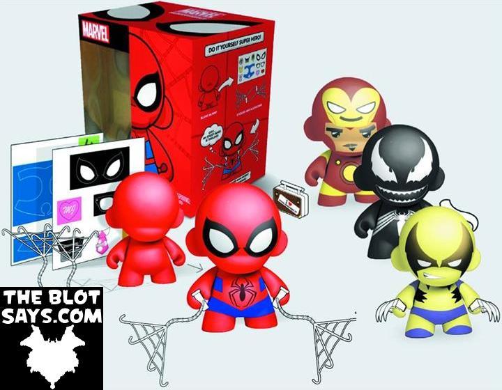 The blot says marvel x kidrobot diy super hero munny mini marvel comics x kidrobot do it your self super hero munny mini munny vinyl figures solutioingenieria Choice Image