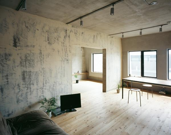 A f a s i a naruse inokuma architects hiroko caribe for Wohnung minimalistisch