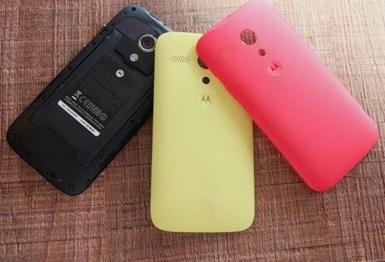 Câmeras: Samsung Galaxy S Duos e Motorola Moto G - 560x382