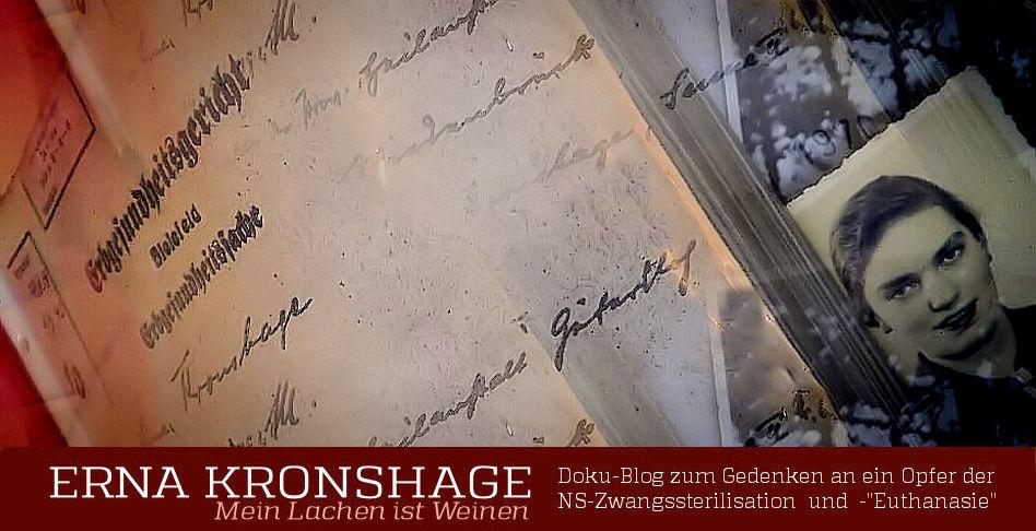 Euthanasie-Opfer ERNA KRONSHAGE