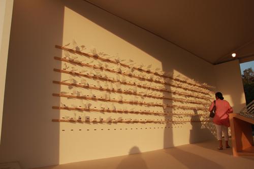 Vibha Galhotra's beach sculpture by Exhibit320 at Dubai Art Fair2013