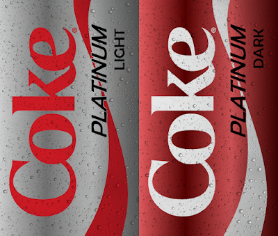 Coke Platinum Dark and Light