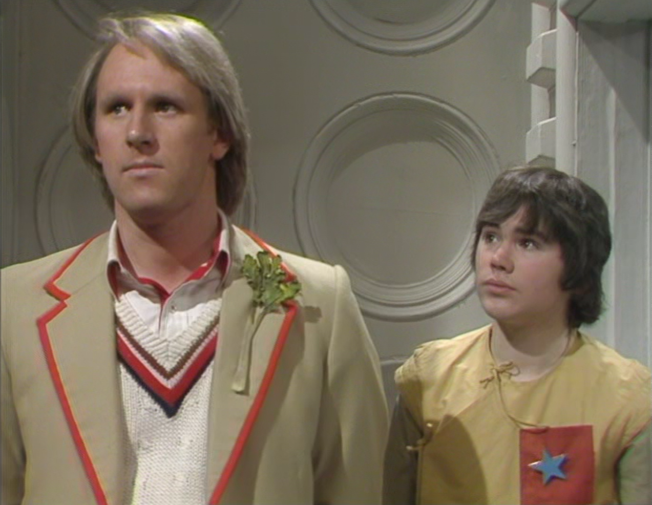 The Doctor and Adric