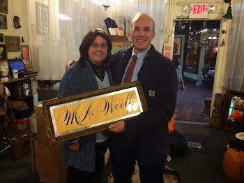 Aaron Woolf Finds His Heritage in Visit to Arcade Antique Shop