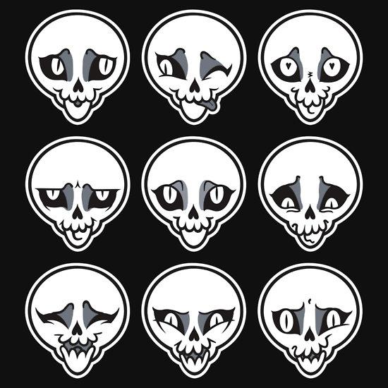 Skull Feels by http://blacklilypie.blogspot.com