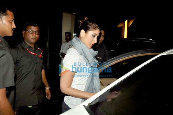 Kareena Kapoor spotted at Grand Hyatt Hotel