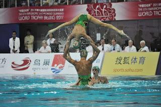 NATACIÓN SINCRONIZADA-España conquista la World Trophy de Pekín